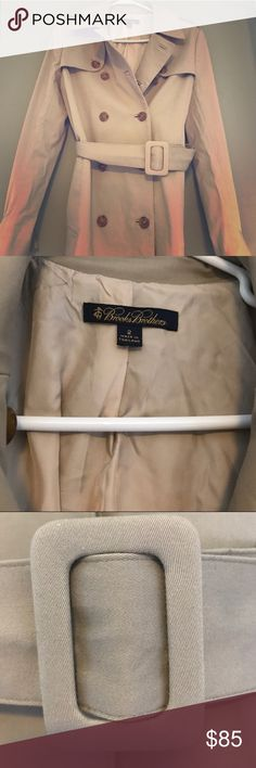 Brooks brothers trench coat! Excellent condition!! Brooks Brothers Jackets & Coats Trench Coats