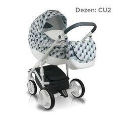 Bexa B4X CUBE AMO kolica za bebe, set 2u1, dezen CU2