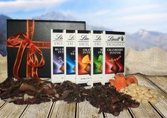 Swiss Meets Africa biltong hamper with chocolate
