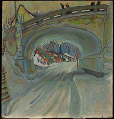 Bank Street Bridge, 1930 Pegi Nicol MacLeod, Canadian, 1904 - 1949