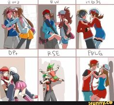 Pokemon couples