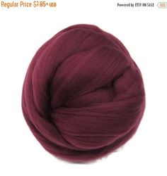 SALE 16 Micron Merino wool Roving Luxury Fiber for felters and spinner (Bloosom)