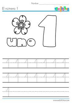 El número uno: http://edufichas.com/actividades/matematicas/numeros/el-numero-1/