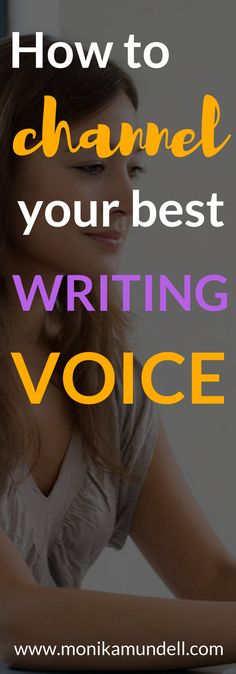 Your best writing voice is surprisingly simple. Read this post to get some actionable copywriting tips and business strategy to help you connect with your tribe.