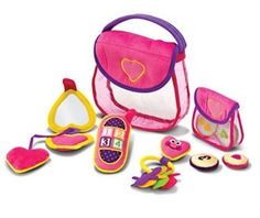 Melissa & Doug Pretty Purse Fill & Spill Toy