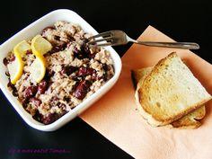 salata de ton cu fasole boabe si ceapa rosie