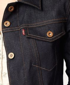 Levi's Made in the USA Selvedge Trucker
