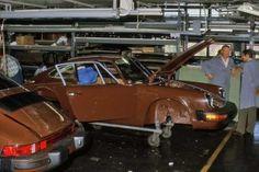 Porsche Factory Visit – September 1974   Track Thoughts