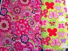 """Currently working on and almost finished with """"Feliz"""" dress using Tutti Frutti fabric from Hancock (pink, black purple flowers), dress pattern from """"Sewing Clothes Kids Love"""""""