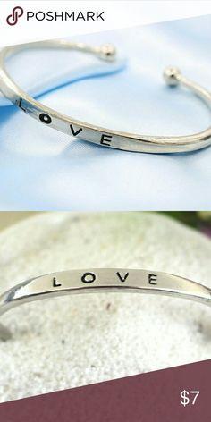 Love Bangle Very cute danity bangle Jewelry Bracelets