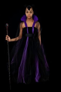Maleficent inspired Sleeping Beauty tutu by ChildrenCreations, $50.00