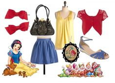 Snow White Outfit 1