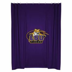 Lsu Tigers Shower Curtain Collection Bath Coordinates