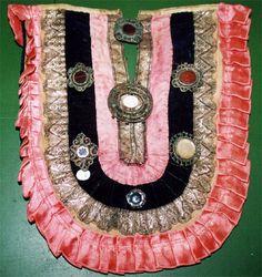 Izu - Tatar breast decoration. Early 20th century.