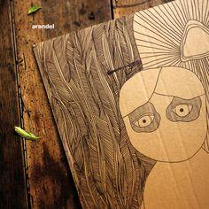 Arandel - In D Remixed Techno Artists, Album, Cover, Illustrations, Illustration, Slipcovers, Blankets, Illustrators, Character Illustration