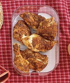 Spiced Cold Chicken | RealSimple.com