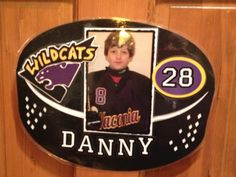 Cool Hockey Tournament hotel door sign from last year!  Hard to top that one made by Hockey Mom Angie W.!