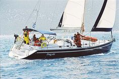 Charter sailing yacht Ocean Star 51.1 , 5 cabins, 10 berths. Avaible for charter in Greece