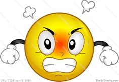 Angry Smiley Stock Photo Stock Image Clipart Vector
