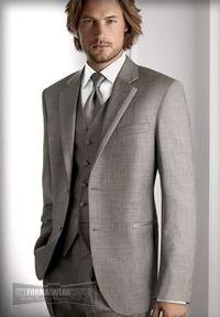 Calvin Klein Grey Tux <3