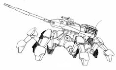 The spider tank from turok. Robot Illustration, Fire Heart, Animal Sketches, Character Design References, Learn To Draw, Coloring Pages, Spider, Concept Art, Animation