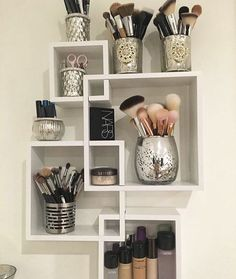 rangement make up meuble