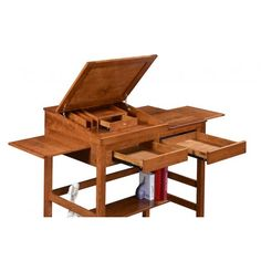 Key West Stand Up Writing Desk