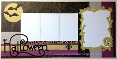 Scrap with Sue: October Club Layouts - Halloween Layouts with Laughing Lola Kit & Artbooking