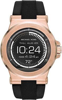 0492d57228ee Michael Kors Men s Connected Watch MKT5010  Amazon.co.uk  Watches Gold  Watches