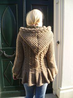 Ravelry: Machiato jakke med hette pattern by Tine Solheim