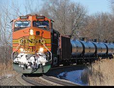 RailPictures.Net Photo: BNSF 5031 Burlington Northern Santa Fe GE C44-9W (Dash 9-44CW) at Colona, Illinois by Tom Farence