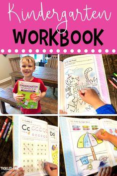 My Kindergarten Workbook - 101 Games and Activities Kindergarten Workbooks, Math Workbook, Phonics Activities, Kindergarten Literacy, Kindergarten Activities, Science Activities, Number Sense Activities, Geometry Activities, Math Facts