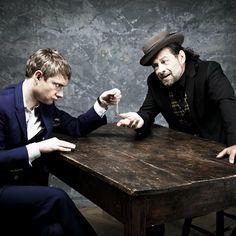 Andy Serkis and Martin Freeman