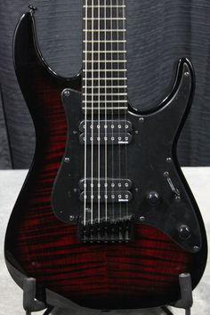Esp/ltd Alex Wade Signature Aw-7 Blood Red Sunburst 7-string Guitar - #w12122361 - http://www.7stringguitar.org/for-sale/espltd-alex-wade-signature-aw-7-blood-red-sunburst-7-string-guitar-w12122361/30049/