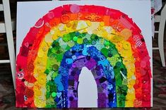 Rainbow Collage, this thing is AWESOME! by deidre