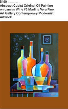 Marlina Vera...Me gustan toooodos sus cuadros, pues aunque me fascina la pintura tradicional, la académica, esta está muy bien lograda, accesible a mi gusto, ligera y llena de color y de vida!