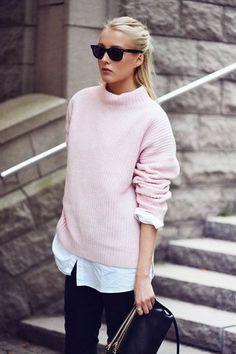 Fashion Trends black, white and dusty pink