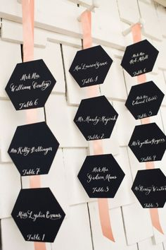 20 Most Creative Escort Card Ideas to Impress » The Bridal Detective
