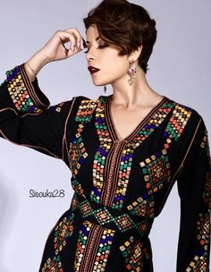 Morrocan Kaftan, Moroccan Dress, Moroccan Style, Kaftan Style, Caftan Dress, Ethnic Fashion, Hijab Fashion, Womens Fashion, Modele Hijab