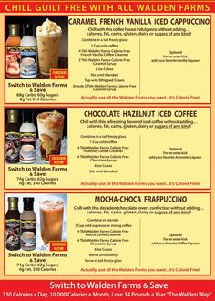 Walden Farms | Iced Coffee Recipes