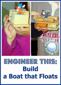 Engineering for Kids: Build a Boat that Floats. #stem #smartmarch #raisingengineers
