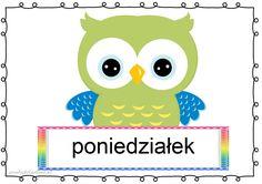 Borders And Frames, Tweety, Montessori, Hand Lettering, Kindergarten, Calendar, Owl, Classroom, Children