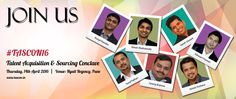 A unique opportunity to network and gain valuable insights with the Best Minds and Thought Leaders in the #TalentAcquisition Industry at #TASCON16. http://tascon.in