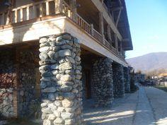 Hotel at Lake Lopota, Kakheti.