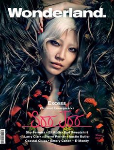 Soo Joo Park for Wonderland by Rory Payne