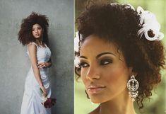Penteado e maquiagem para noivas negras e morenas - Berries and Love
