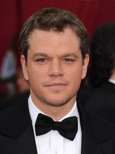 matt damon... one of the best actors. ever. I am in love with him.