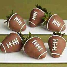 #football #strawberries