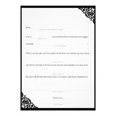 See MoreWedding Mad Libs Black Vine Personalized Invitestoday price drop and special promotion. Get The best buy
