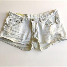 Distressed shorts Light blue distressed Jean shorts. Shorts Jean Shorts